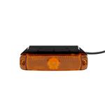 Led-zijmarkeringslicht, universeel met hoekbeugel - SML-ADR-BRACKETHOLD-130X32MM