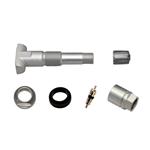 Ventiel voor 2.0 reservesensor met rubber ventiel - REP-VENTIEL-EZ-2.0-METAAL VA